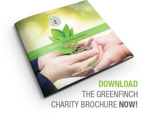 Charity brochure CTA